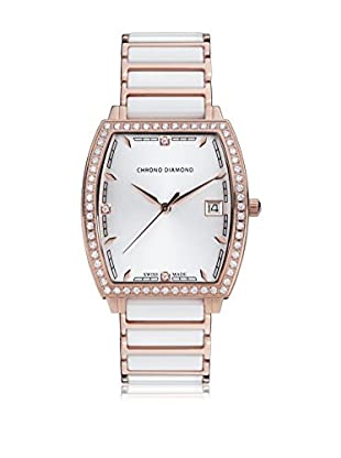 Chrono Diamond Reloj con movimiento cuarzo suizo Woman 10310E Leandra 32 mm