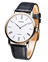 Citizen Eco-Drive Analog White Dial Men's Watch - AR1113-12B