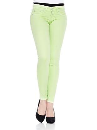 Pepe Jeans London Pantalón Skittle (Verde Claro)
