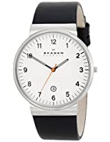 Skagen Analog White Dial Men's Watch - SKW6024