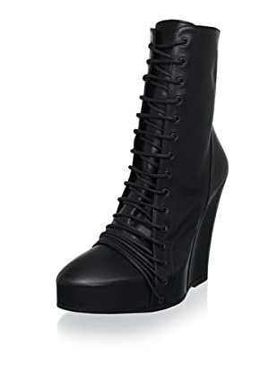 Ann Demeulemeester Women's Lace-Up Ankle Boot (Nero)