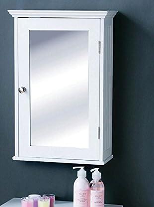 Premier Housewares Spiegelschrank 8812129 weiß