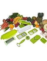 Unique Gadget Nicer Dicer Plus Multi Chopper Vegetable Cutter Fruit Slicer