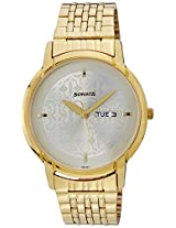 Sonata Analog White Dial men's Watch - 77031YM04J