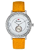 Cerise Andra Big Dial Multi Face Analogue White Dial Women's Watch - CSK1112