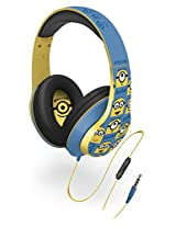 eKids Minions Over-the-Ear Headphones with Volume Control Refresh (Ui-M40MN.FXv2)