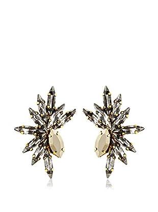 Tova Sparkling Gold Mohawk Earrings