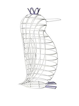 Seletti Fantastico Domestico-Penguin, White/Blue