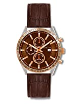Giordano Analog Brown Dial Men's Watch - GX1577-08