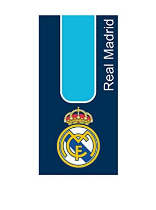 Art Experience Toalla De Playa Real Madrid Azul 75 x 150
