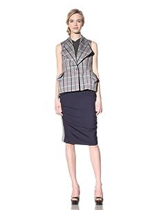Vivienne Westwood Red Label Women's One Button Plaid Vest (Multi)