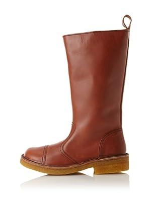 Swedish Hasbeens Women's Worker Boot (Cognac)