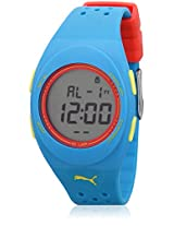 Faas 250 89106101 Blue/Grey Digital Watch