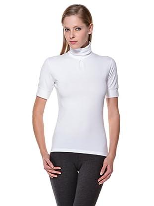 Cotonella Camiseta Cuello Alto (blanco)