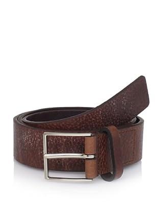 Michael Kors Men's Tumbled Belt (Chocolate)