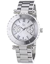 Gc Analog Silver Dial Women's Watch - I20026L1S
