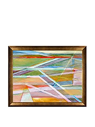 Clive Watts Edge Of Abstraction No 5 Framed Print On Canvas, Multi, 35