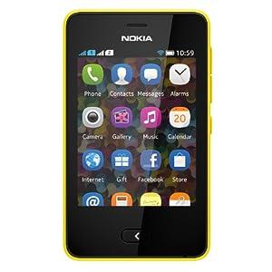 Nokia Asha 501 (Dual SIM, Yellow)