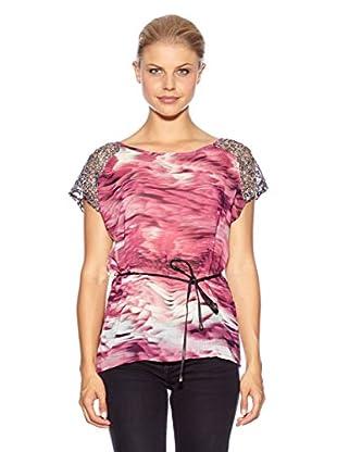 Anna Scott Camiseta Evans (Fucsia)