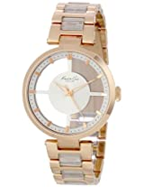 Kenneth Cole Transparency Analog Silver Dial Women's Watch KC4759