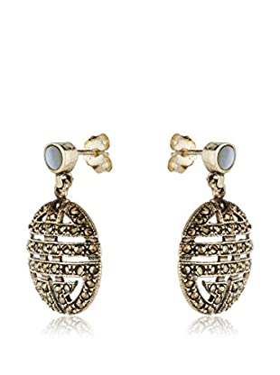 Cordoba Joyeros Ohrringe vergoldetes Silber 925