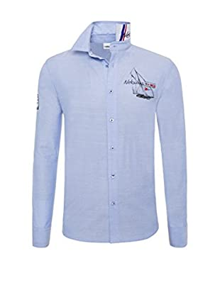 Nebulus Camisa Hombre Havanna Azul Claro 2XL