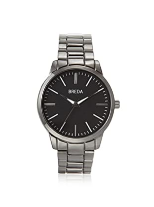 Breda Men's 1636 Grant Black Alloy Watch