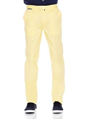 Pedro del Hierro Pantalón Pima Cotton Prosper (Amarillo)
