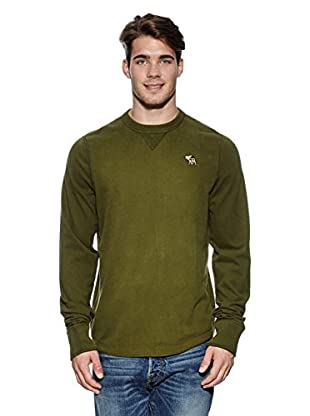 Abercrombie & Fitch Pullover Classic Crew (khaki)