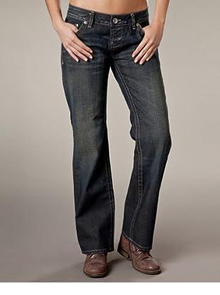 LTB Jeans New Marina Straight Leg Low Rise (Dunkelgrau)