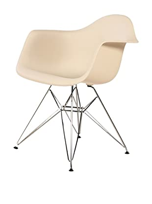 Stilnovo Mid-Century Eiffel Dining Arm Chair, Beige