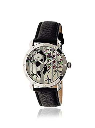 Bertha Women's BR4504 Lilly Black/Multicolor Leather Watch