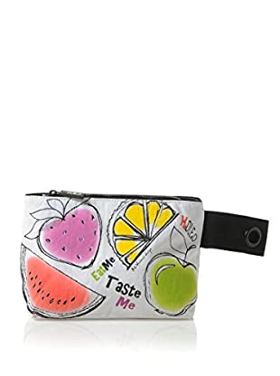 H.Due.O Necessaire Summertime Fruits Bianco