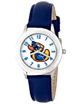 Disney Kids W000449 Tween Rubber Duck Stainless Steel Watch with Blue Band