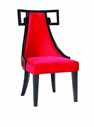 Armen Living Skyline Side Chair, Red