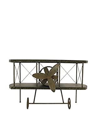 Three Hands Metal Airplane Accent