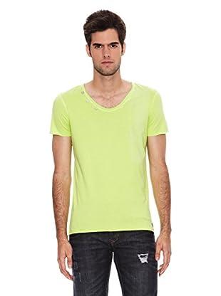 Six Valves Camiseta Manga Corta (Verde Lima)