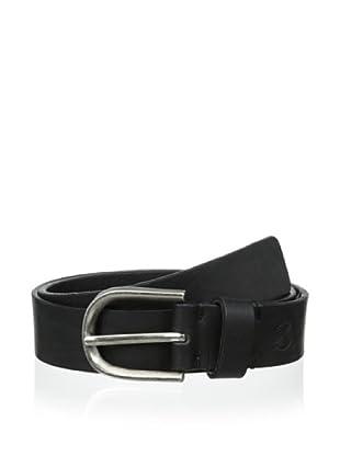 Maker & Company Men's Casual Belt (Black)