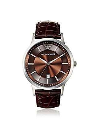 Emporio Armani Men's AR2413 Brown Leather Watch