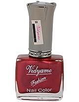 Vidyame Nail Paint, Maroon, 9.9 ml