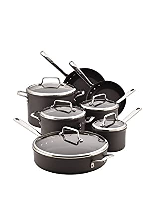 Anolon Authority Hard-Anodized Nonstick 12-Piece Cookware Set, Grey