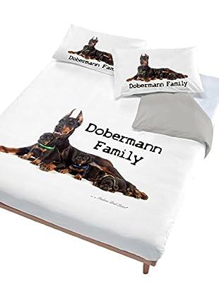Italian Bed Linen Bettwäsche Doberman Family