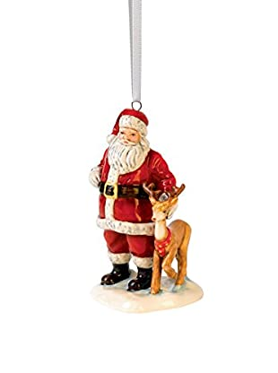 Royal Doulton Santa With Reindeer, Multi