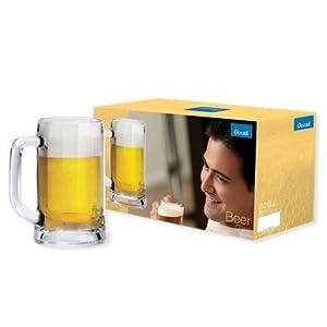 Ocean Munich Clear Beer Mug Set of 6