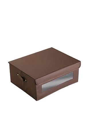 Zings Caja Xl Con Ventana Chocolate