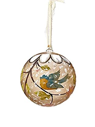 Sage & Co. Bird Hand-Painted Ornament