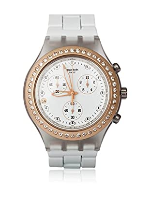 Swatch Quarzuhr Unisex Unisex FULL-BLOODED MARVELOUS PINK SVCK4067AG 43.0 mm