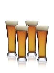 Luigi Bormioli Set of 4 Michelangelo Masterpiece 15.25-Oz. Beer Glasses