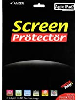 Amzer Anti-Glare Screen Protector with Cleaning Cloth for Apple iPad 3, iPad 4