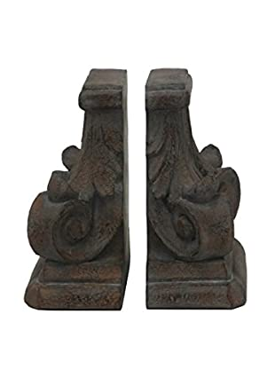 Three Hands Set of 2 Resin Bookends
